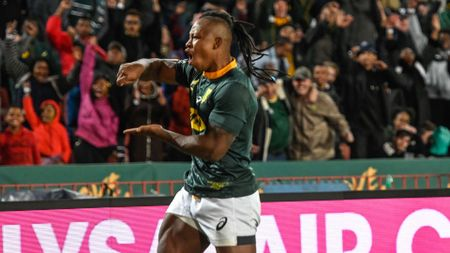 S'busiso Nkosi scored twice in South Africa's win over Argentina