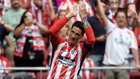 Fernando Torres scores on his last appearance for Atletico Madrid
