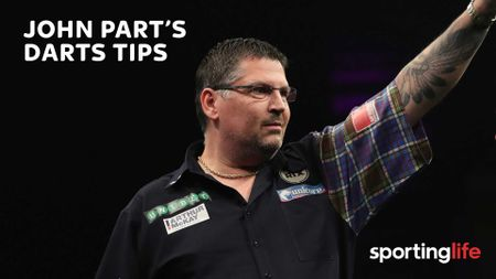 Is John Part backing Gary Anderson this week?