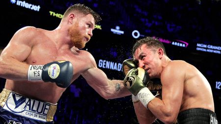 Saul Alvarez (l) and Gennady Golovkin: Rematch on the cards?