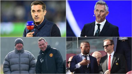 Gary Neville, Gary Lineker, Rene Meulensteen and Patrice Evra have all had their say