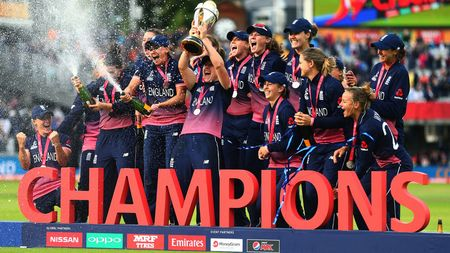 England win the Women's World Cup
