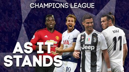 The latest Champions League standings and what teams need to do to qualify