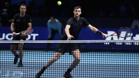 Bruno Soares (l) and Jamie Murray: Beaten in the semi-finals