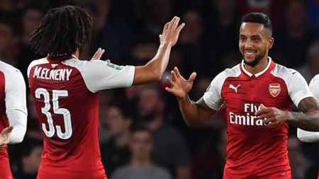 Theo Walcott scored the only goal as Arsenal beat Doncaster