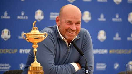 Thomas Bjorn leads Europe at the Ryder Cup