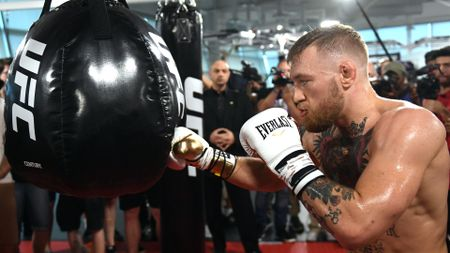 Conor McGregor - confident of victory against Floyd Mayweather