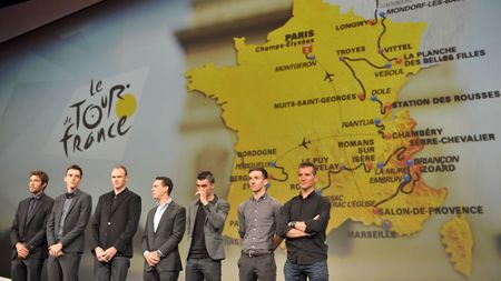 The route of Le Tour in 2017