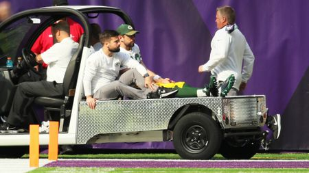 Aaron Rodgers suffered a bad injury