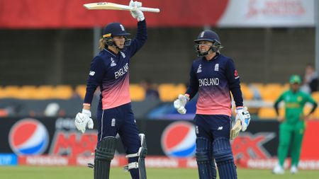 Nat Sciver and Heather Knight both made centuries