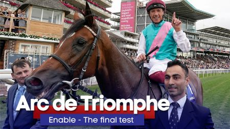 Enable has won her last 12 starts, but can she make it a third Arc in a row?