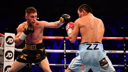 Ryan Burnett (left) came out on top