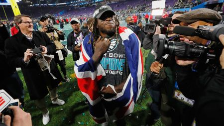 Jay Ajayi enjoys Super Bowl success
