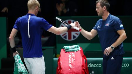 Kyle Edmund and Leon Smith