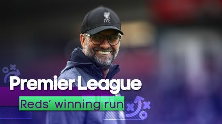 We look at Liverpool's winning run in the Premier League to date