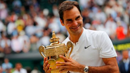 Roger Federer: Wimbledon champion for an eighth time