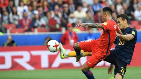 Martin Rodriguez fires home for Chile