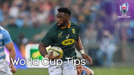 Siya Kolisi in action for South Africa
