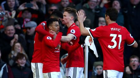 Jesse Lingard scored United's second