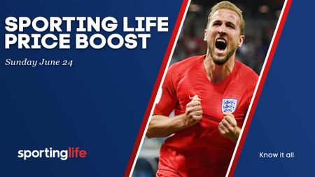 The Sporting Life Price Boost for Sunday includes Harry Kane