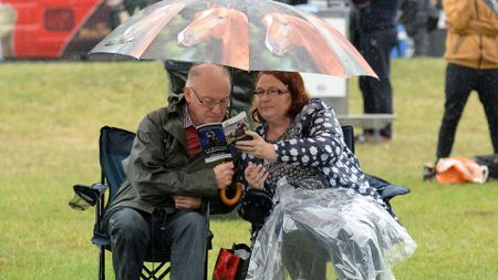No umbrella could save the Ayr Gold Cup card