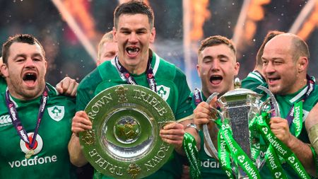 Ireland are all smiles after winning the NatWest 6 Nations