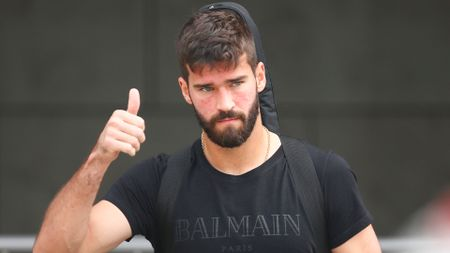 Thumbs up from Alisson for LFC move