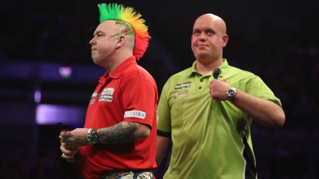 Peter Wright and Michael van Gerwen