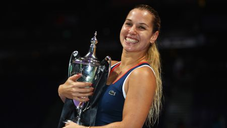 Dominika Cibulkova won the 2016 WTA Finals