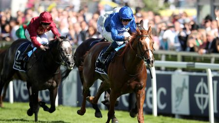 Masar has the measure of Roaring Lion at Epsom
