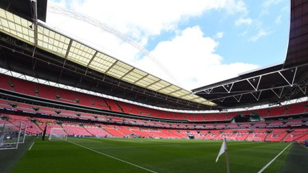 A general view of Wembley