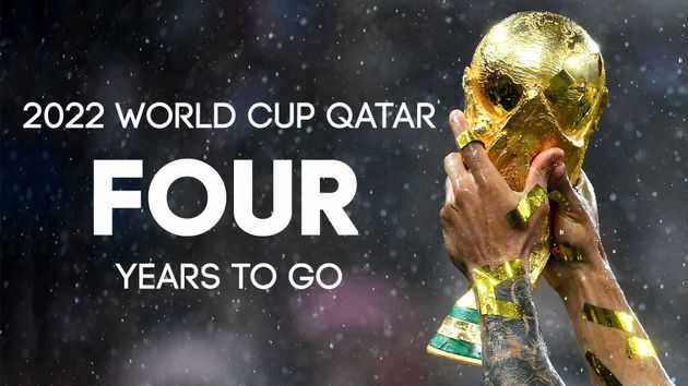 The countdown to the 2022 World Cup is on