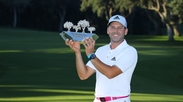 Sergio Garcia made a successful defence
