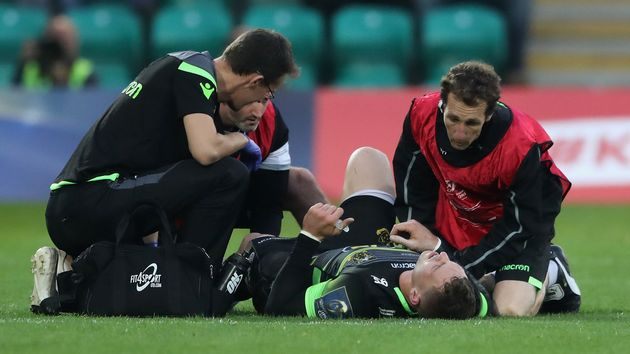 George North faces at least six weeks out