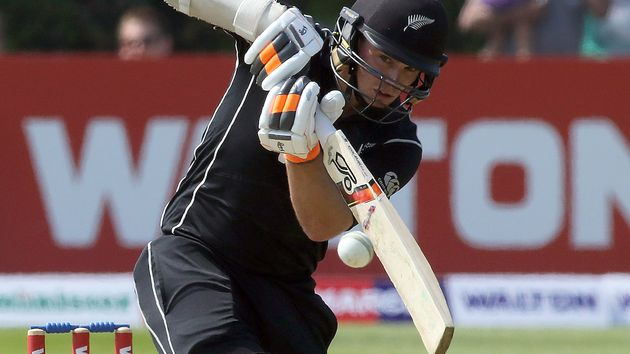 Tom Latham guided New Zealand to victory