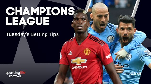 Our tips for Tuesday night's Champions League action