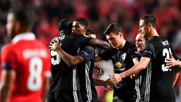 Marcus Rashford and Manchester United celebrate