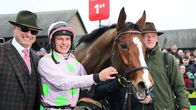 Faugheen is surrounded by winning connections