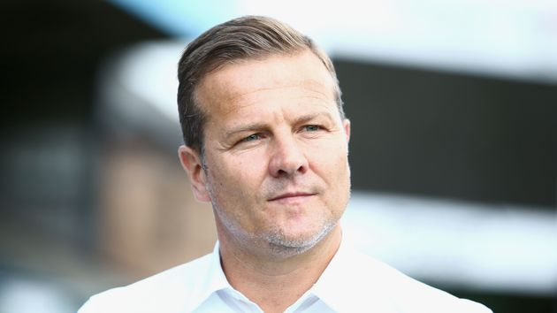 Forest Green Rovers boss Mark Cooper