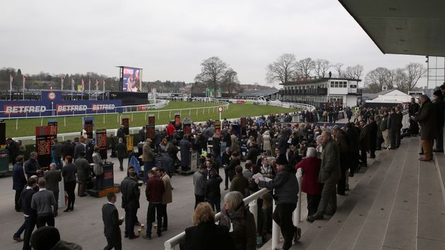 A view of Uttoxeter racecourse