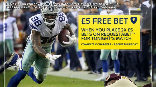 Sky Bet's Thanksgiving NFL offer