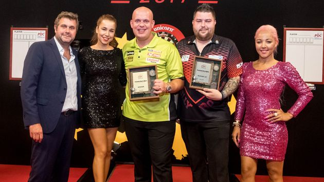 Michael van Gerwen took the title in Austria