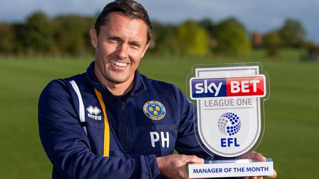 Shrewsbury manager Paul Hurst