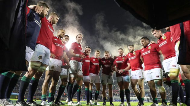 The Lions will face New Zealand