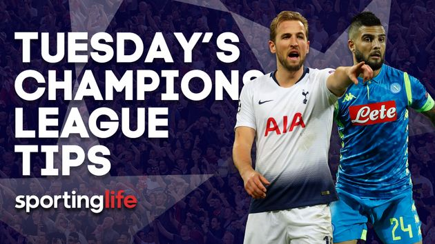 Our best bets for Tuesday's Champions League action