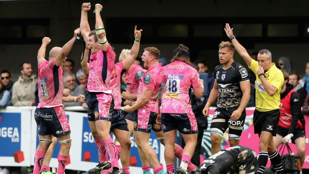 Exeter after their superb win at Montpellier