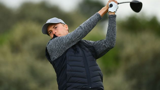 Jordan Spieth sits five under after an opening 65