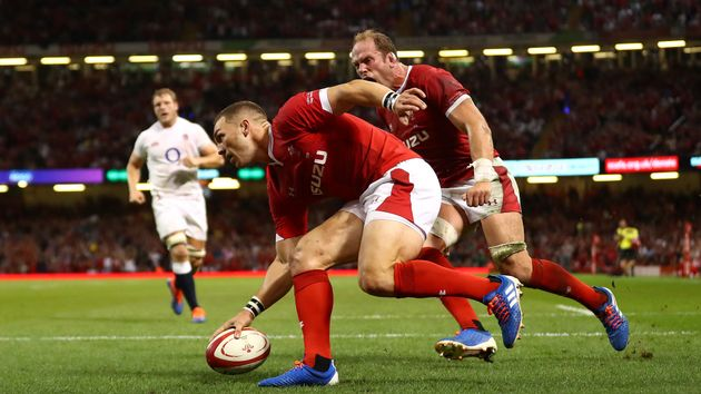 George North scored the only try of the game as Wales beat England 13-6
