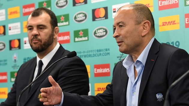 Michael Cheika (left) and Eddie Jones renew old rivalries this weekend