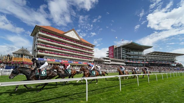 Action from day two of the Ebor Festival